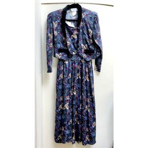 Northern Tradition Vintage Matching Dress & Blazer